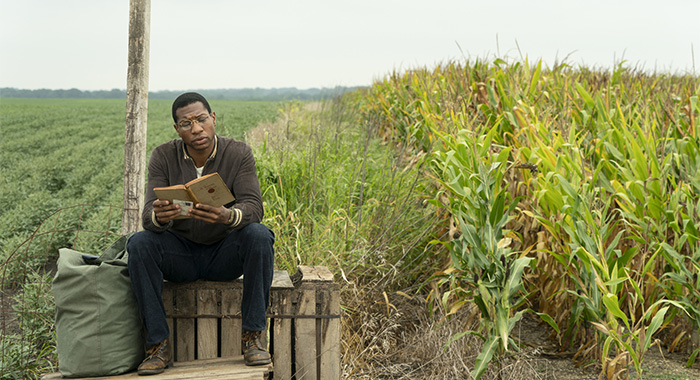 Jonathan Majors in Lovecraft Country season 1