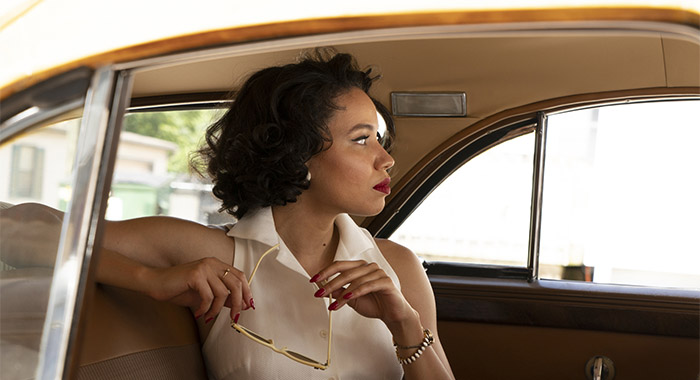 Jurnee Smollett in Lovecraft Country season 1