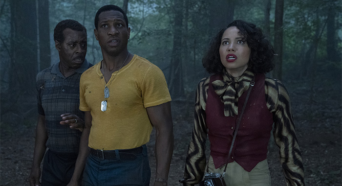 Courtney B. Vance, Jonathan Majors and Jurnee Smollett in Lovecraft Country season 1