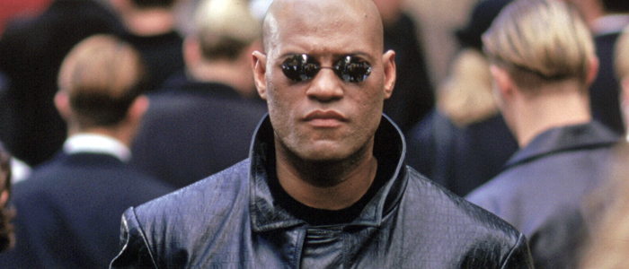 Laurence Fishburne as Morpheus in The Matrix