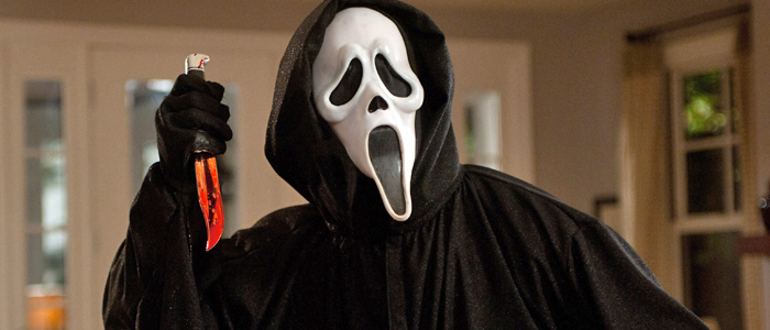 The Ghostface Killer in Scream 4