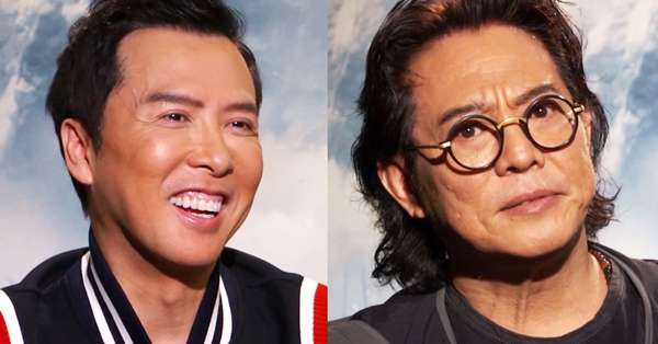 Jet Li S And Donnie Yen S Daughters Convinced Them To Do Mulan Rotten Tomatoes Movie And Tv News