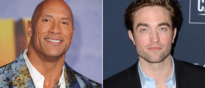 Dwayne Johnson and Robert Pattinson