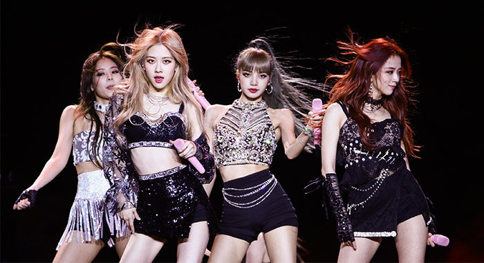 Blackpink perform at the 2019 Coachella Valley Music And Arts Festival