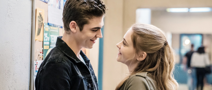 Hero Fiennes Tiffin and Josephine Langford in After