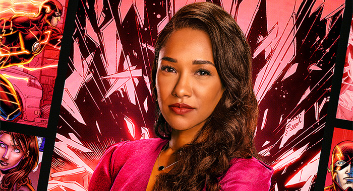 Candice Patton in The Flash 2021 promo poster