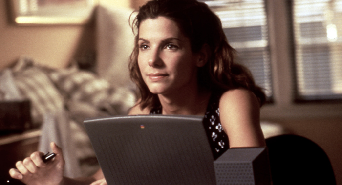 Sandra Bullock in The Net