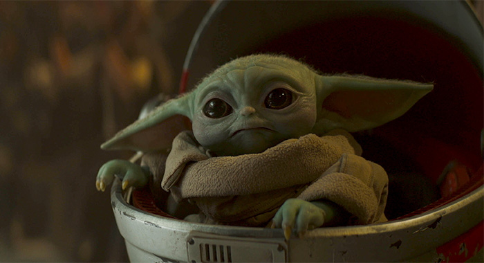 The Child (aka Baby Yoda) in The Mandalorian season 2