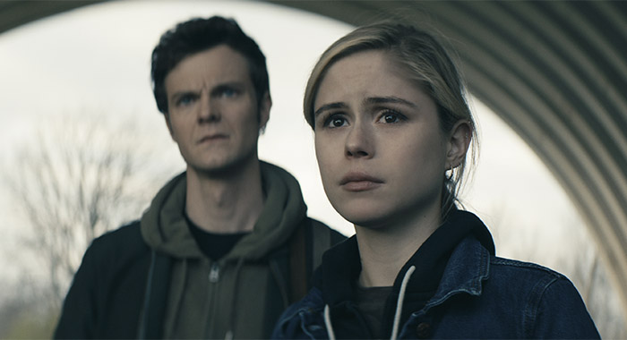 Erin Moriarty and Jack Quaid in The Boys season 2