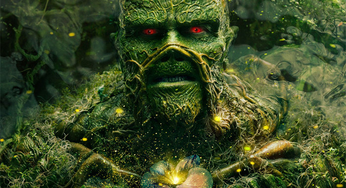 Dearek Mears as Swamp Thing