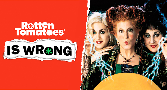 Rotten Tomatoes Is Wrong About Hocus Pocus Rotten Tomatoes Movie And Tv News