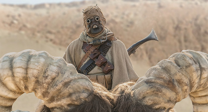Sand people in The Mandalorian season 2, episode 1