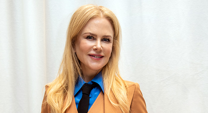 Nicole Kidman in March 2020