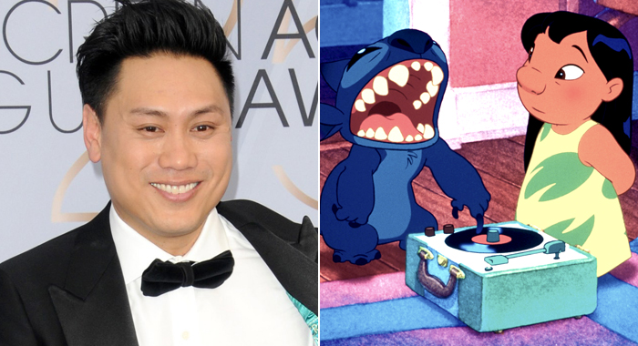 John Chu and scene from Lilo & Stitch