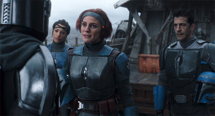 Katee Sackhoff in The Mandalorian Chapter 11