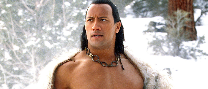 Dwayne Johnson in The Scorpion King