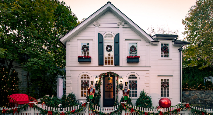 VRBO Lifetime Holiday House in Greenwich, CT - Nov. 4, 2020.