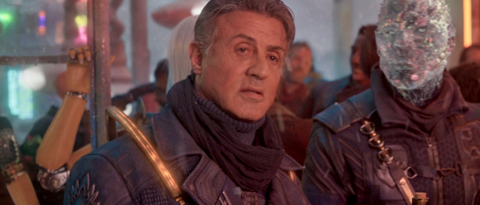 Sylvester Stallone in Guardians of the Galaxy Vol. 2