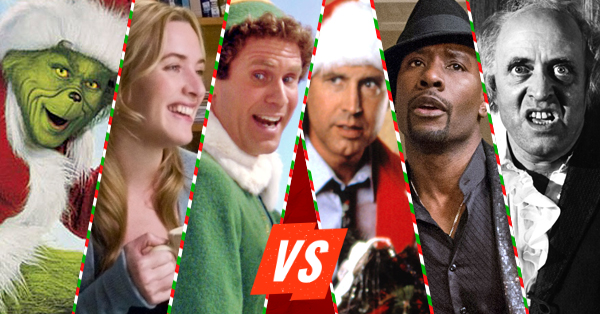 Vote in the Christmas Movie Showdown – Round 1