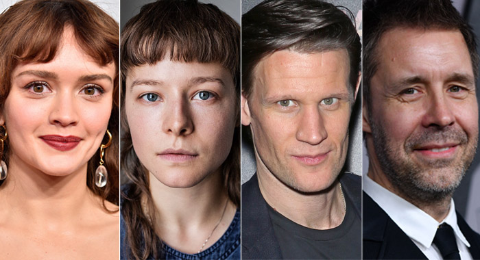 Olivia Cooke, Emma D'Arcy, Matt Smith, and Paddy Considine