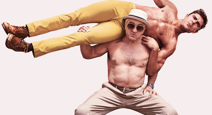 Zac Efron and Robert De Niro in Dirty Grandpa