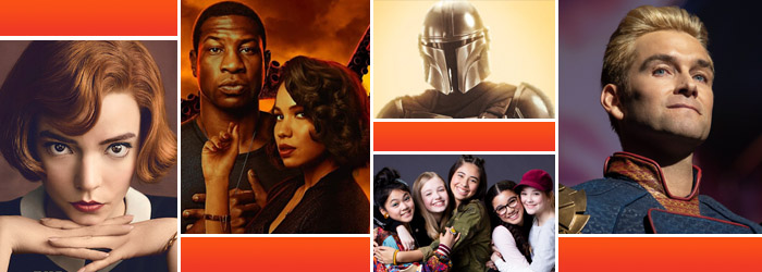 The Queen's Gambit, Lovecraft Country, The Mandalorian, The Boys, The Baby-Sitters Club