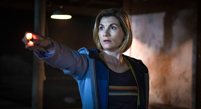 Jodie Whittaker as The Doctor- Doctor Who _ Season 12