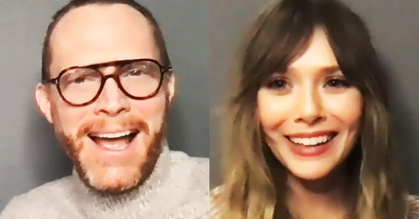 <em>WandaVision</em>&#8216;s Elizabeth Olsen and Paul Bettany Say the MCU Heroes Are &#8216;Literal Soulmates&#8217;
