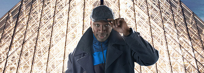 Omar Sy in season 1 keyart for Lupin