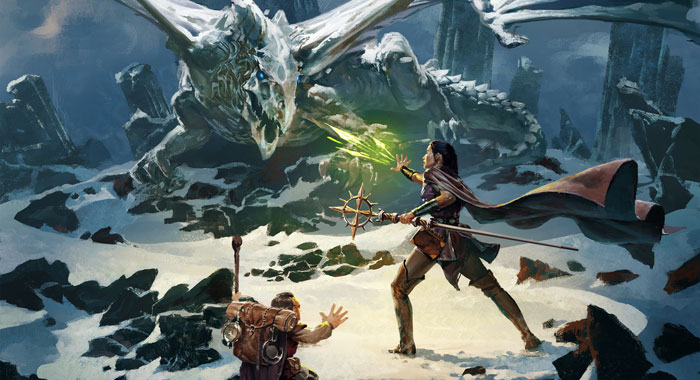 Dungeons & Dragons Essentials Kit keyart