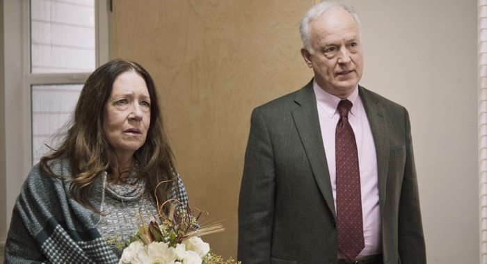 Ann Dowd and Reed Birne in Mass