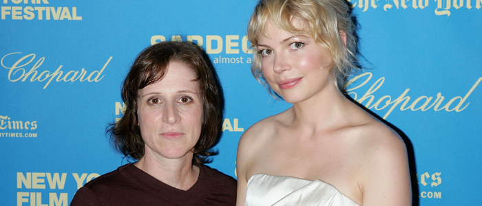 Kelly Reichardt and Michelle Williams in 1008
