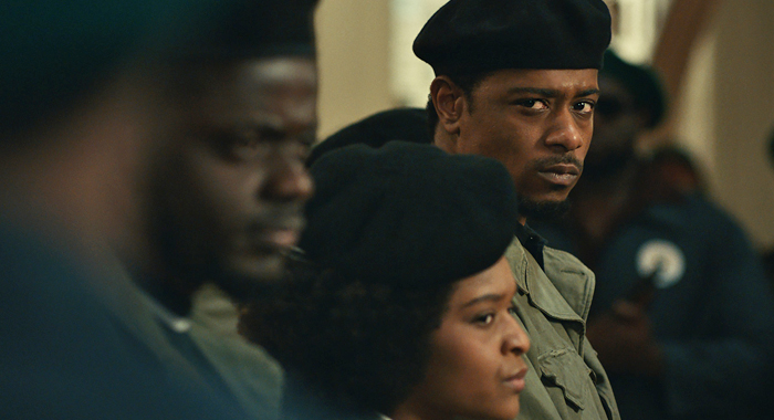 LaKeith Stanfield and Daniel Kaluuya in Judas and the Black Messiah