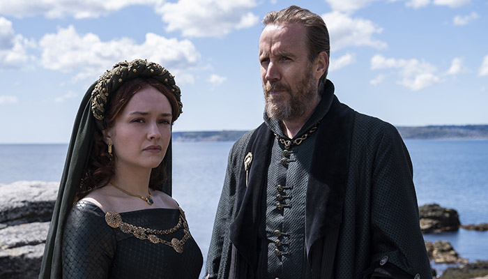 Olivia Cooke and Rhys Ifans star in House of the Dragon