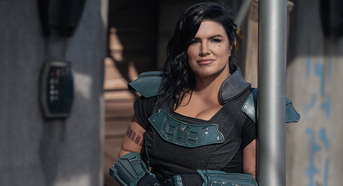 Gina Carano as Cara Dune in The Mandalorian season 2