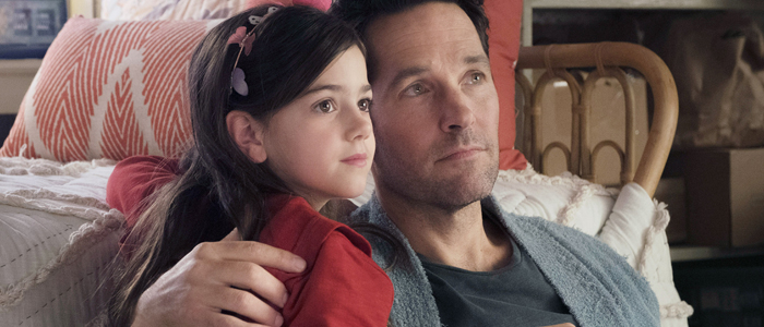 Abby Ryder Fortson and Paul Rudd in Ant-Man and the Wasp