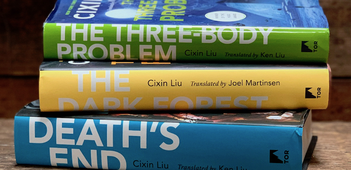 Liu Cixin's book trilogy, including Three Body Problem