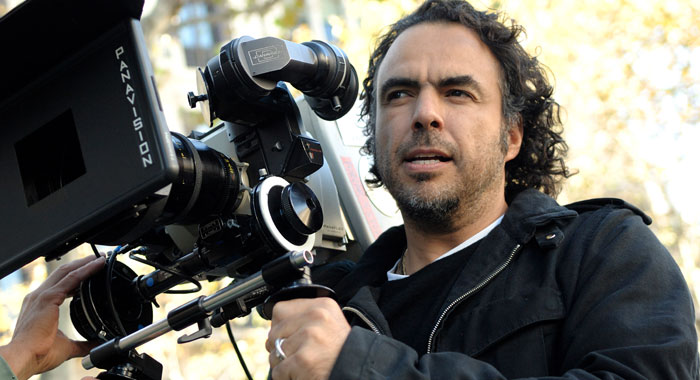 Aljandro Gonzalez Innaritu on the set of Biutiful