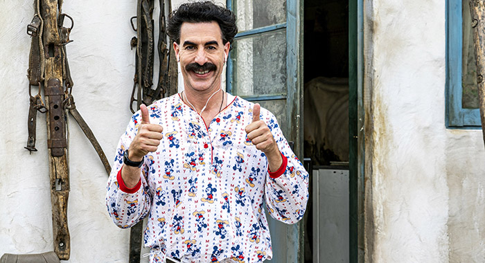 Sacha Baron Cohen in Borat Subsequent Moviefilm