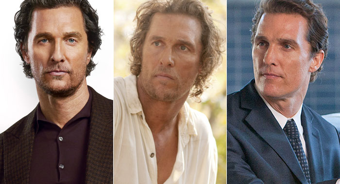 Matthew McConaughey in The Gentlemen, Mud, and The Lincoln Lawyer