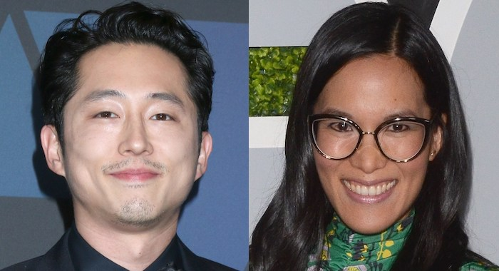 Steven Yeun and Ali Wong (Priscilla Grant/Everett Collection)