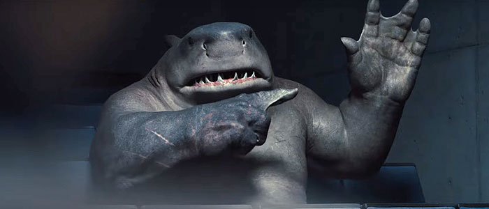 King Shark in The Suicide Squad