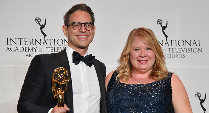 Greg Berlanti and Julie Plec