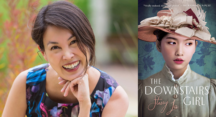 Stacey Lee author of The Downstairs Girl