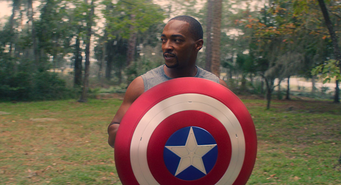 Anthony Mackie in Marvel Studios' THE FALCON AND THE WINTER SOLDIER