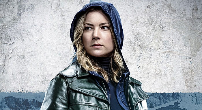 Emily VanCamp in Sharon Carter poster for Marvel Studios' THE FALCON AND THE WINTER SOLDIER