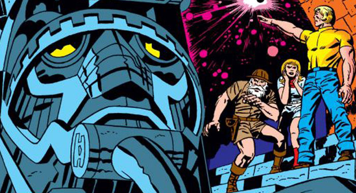 Issue #1 of Jack Kirby's The Eternals