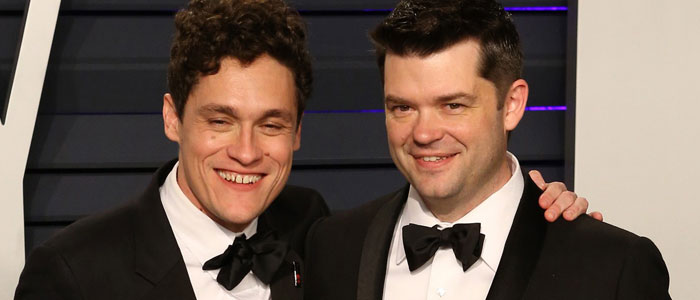 Phil Lord and Chris Miller at the 2019 Oscars