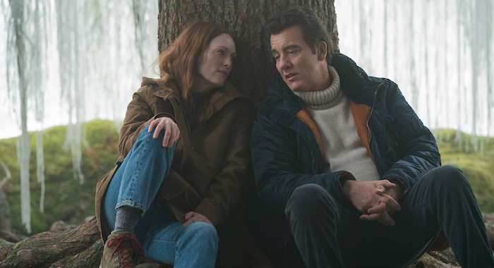 Julianne Moore and Clive Owen in Lisey's Story, Apple TV+