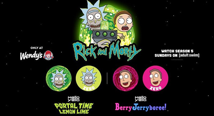 Rick and Morty Day and Wendy's